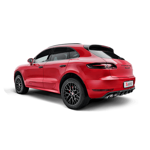Akrapovic Titanium Exhaust System (Macan S / GTS / Turbo) - Flat 6 Motorsports - Porsche Aftermarket Specialists