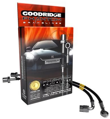 Goodridge Phantom Stainless Steel Brake Lines (987 Cayman / Boxster) - Flat 6 Motorsports - Porsche Aftermarket Specialists