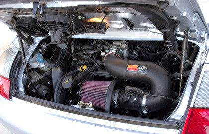 K&N Performance Intake System (996 Carrera) - Flat 6 Motorsports - Porsche Aftermarket Specialists