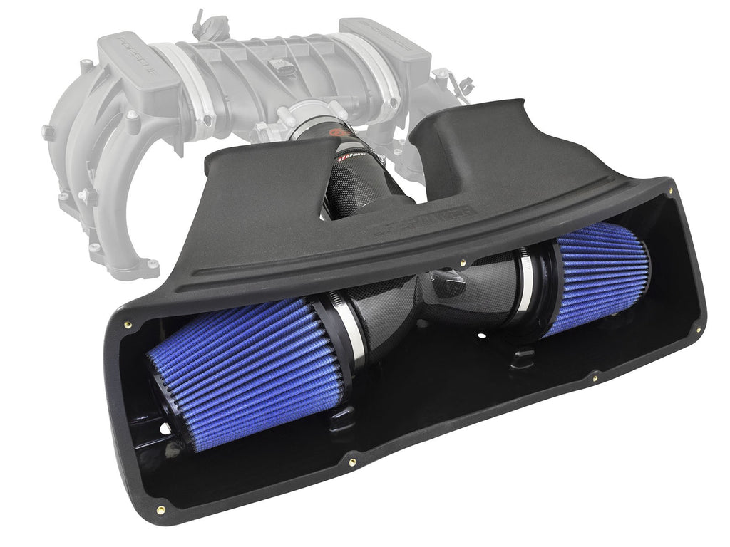 aFe Power Black Series Cold Air Intake System (Carrera / Carrera S 991) - Flat 6 Motorsports - Porsche Aftermarket Specialists