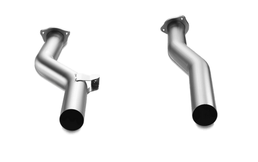 Akrapovic Titanium Front Link Pipes (Cayenne Turbo 958.2) - Flat 6 Motorsports - Porsche Aftermarket Specialists