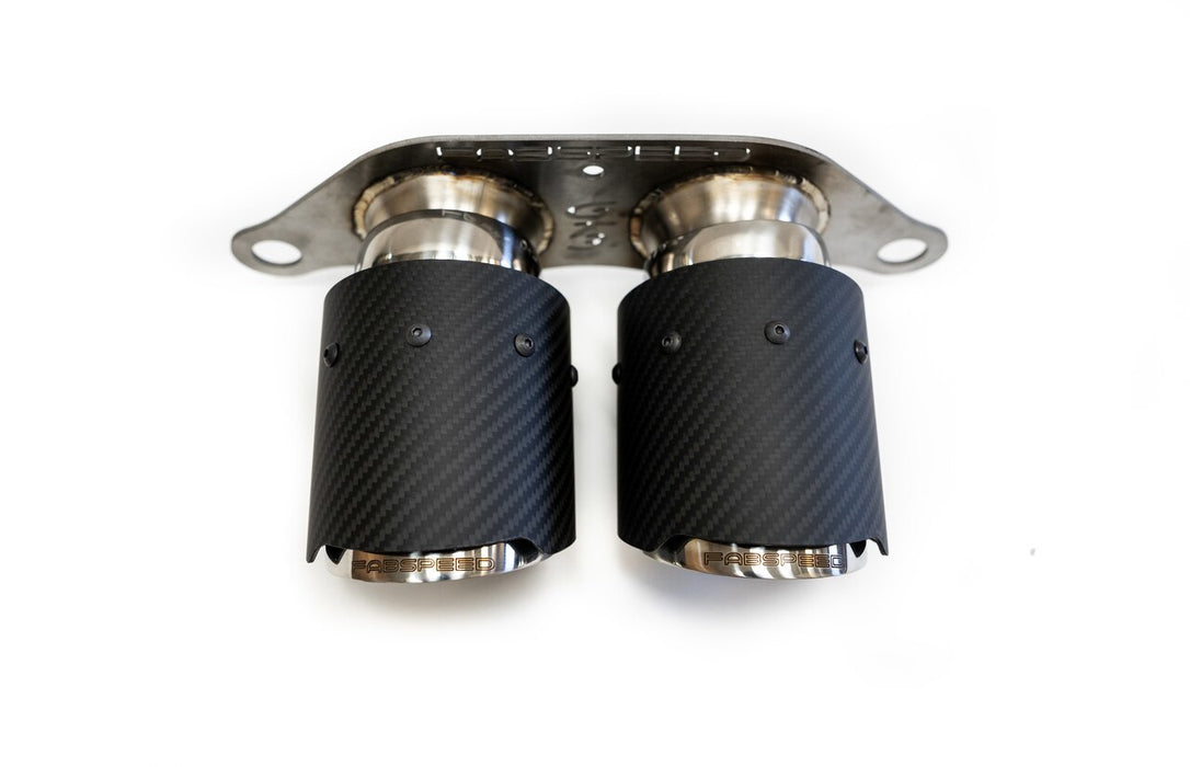 Fabspeed Center Mini Maxflo Performance Exhaust System (991 GT3)