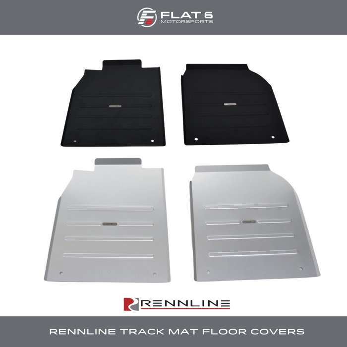 Rennline Track Mat Floor Covers (981 Cayman & Boxster)