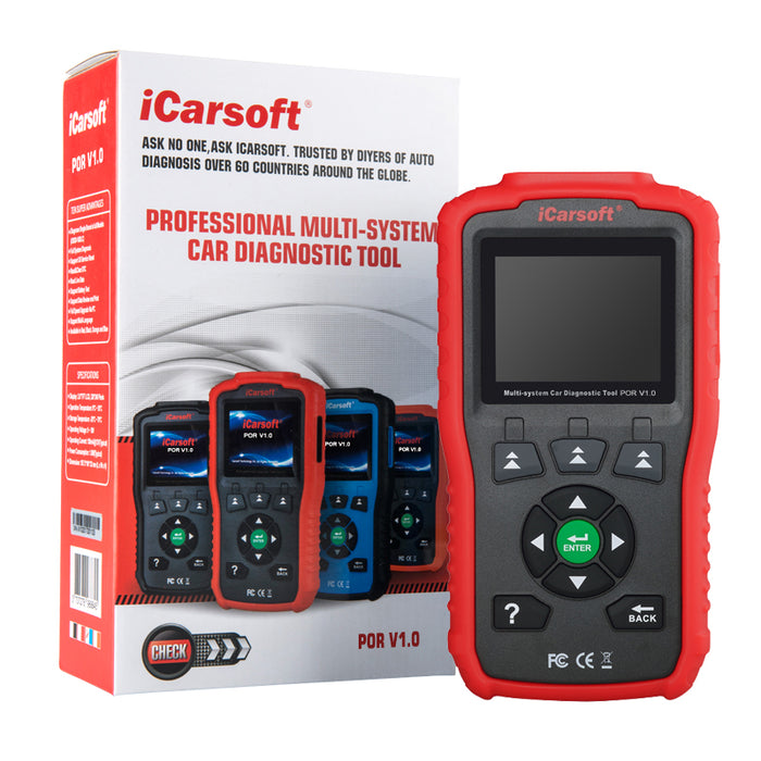 iCarsoft - POR V1.0 Oil Service Reset & Multi System Diagnostic Tool (987 Cayman & Boxster)