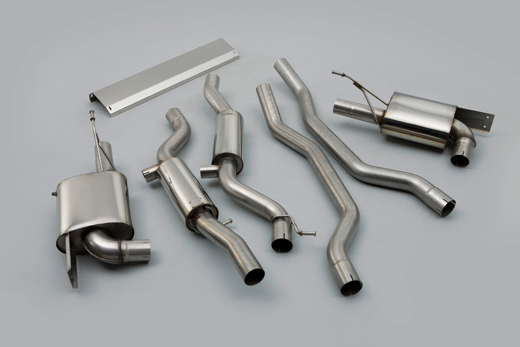 Milltek Cat-Back Exhaust System (Cayenne S / Turbo 955)