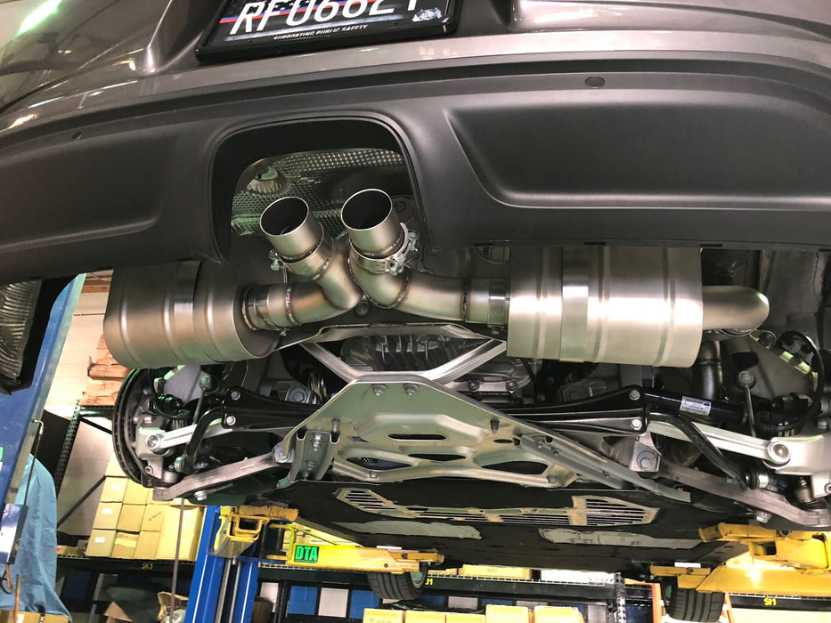 Agency Power Cat-Back Exhaust System (Cayman / Boxster 718)