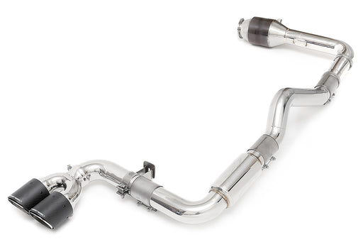 Fabspeed Supercup Turboback Exhaust System (Cayman / Boxster 718) - Flat 6 Motorsports - Porsche Aftermarket Specialists