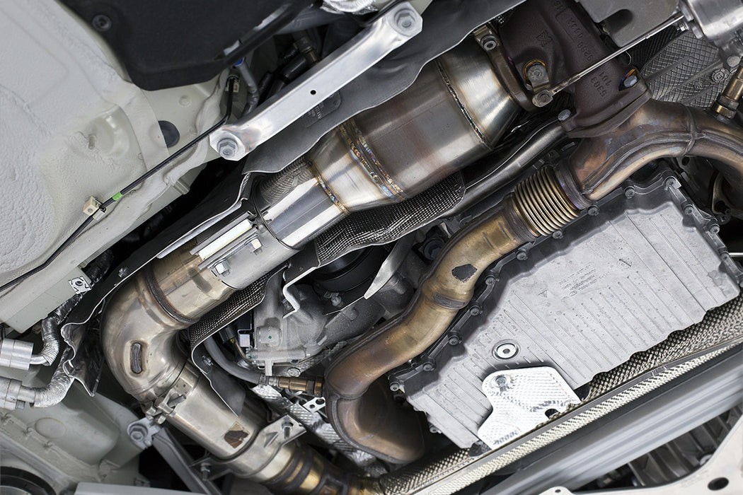 Fabspeed Sport Catalytic Converter (Cayman / Boxster 718) - Flat 6 Motorsports - Porsche Aftermarket Specialists