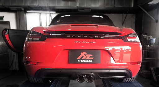 Frequency Intelligent Valvetronic Exhaust System (718) - Flat 6 Motorsports - Porsche Aftermarket Specialists