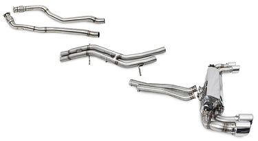 Cargraphic Catback Exhaust System (9YA Cayenne S)