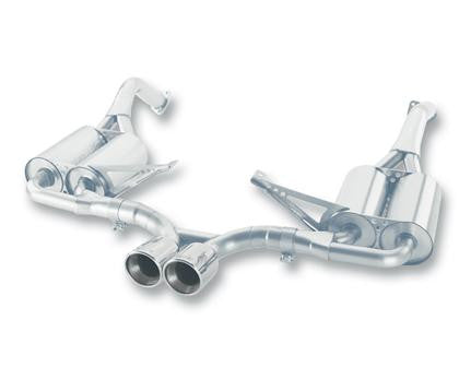 Borla S-Type Catback Exhaust System (Cayman / Boxster 987.1) - Flat 6 Motorsports - Porsche Aftermarket Specialists