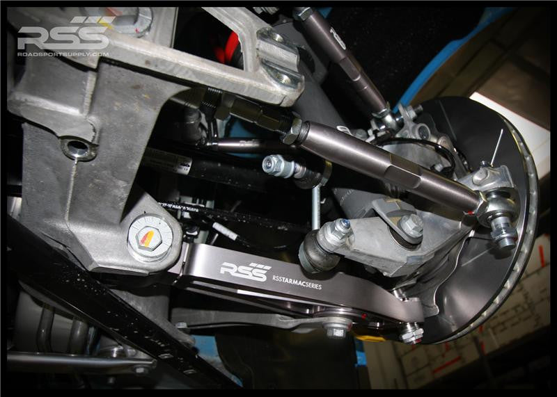 RSS Adjustable Rear Toe/Bump Steer Kit (987 / 996 / 997) - Flat 6 Motorsports - Porsche Aftermarket Specialists