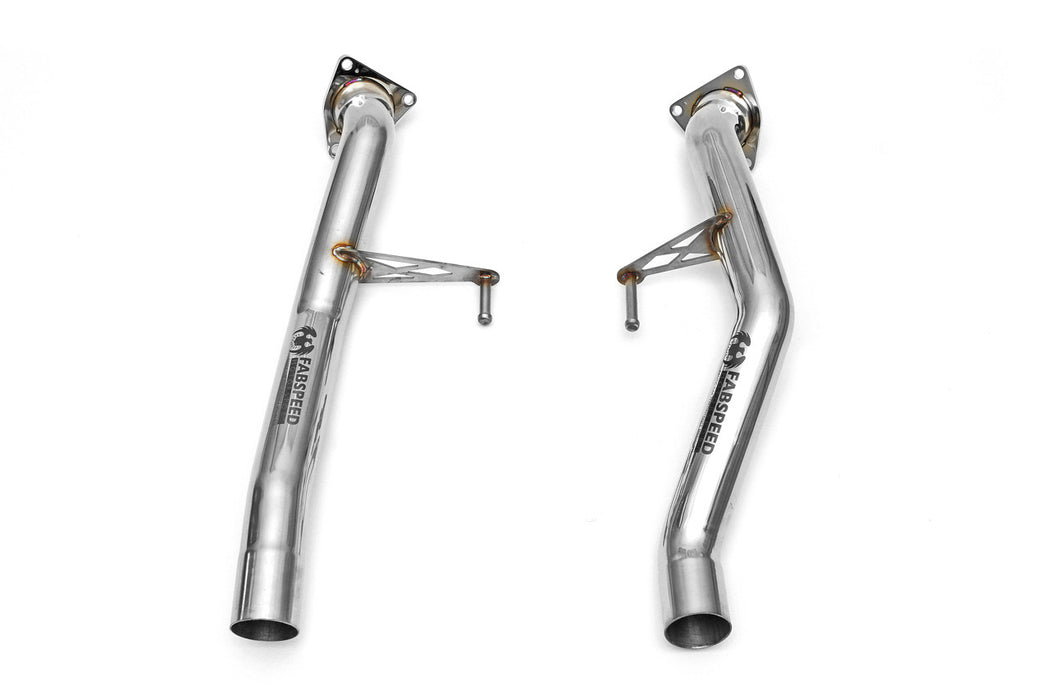 Fabspeed Secondary Catbypass Pipes (Cayenne S / Turbo 957