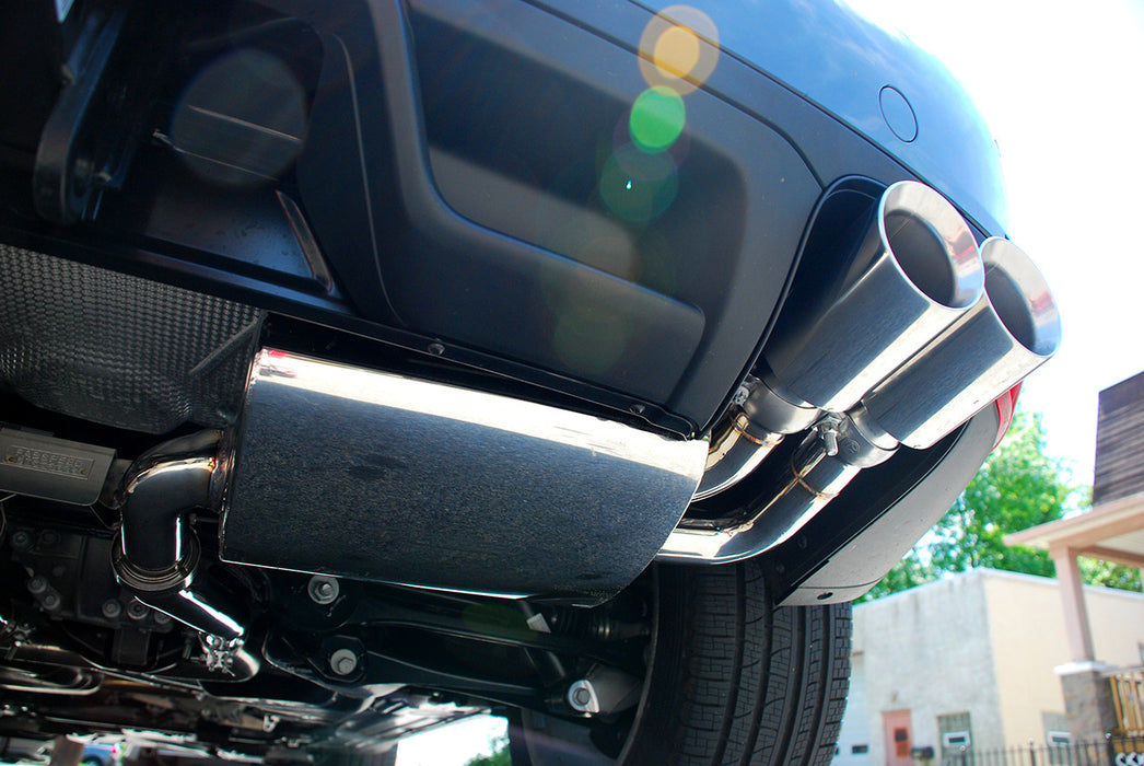 Fabspeed Maxflo Performance Exhaust System (Cayenne S / Turbo 958) - Flat 6 Motorsports - Porsche Aftermarket Specialists