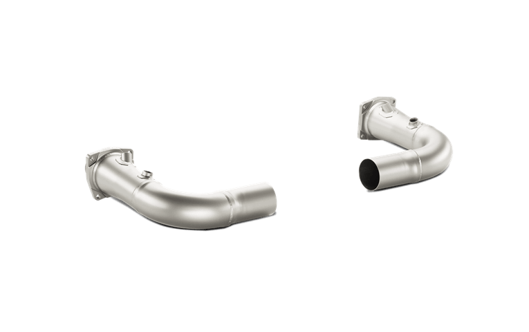 Akrapovic Titanium Link Pipes (991.1 Turbo) - Flat 6 Motorsports - Porsche Aftermarket Specialists