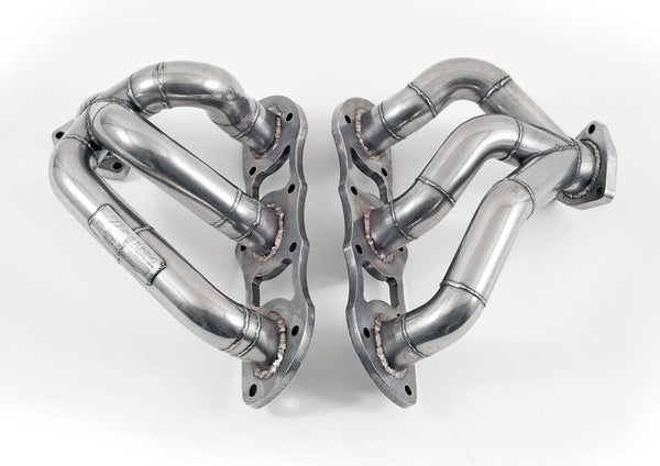 AWE Tuning Performance Headers (997.2 Turbo) - Flat 6 Motorsports - Porsche Aftermarket Specialists