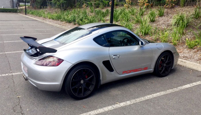 NR Auto - GT4 Style Wing (987 Cayman / Boxster)
