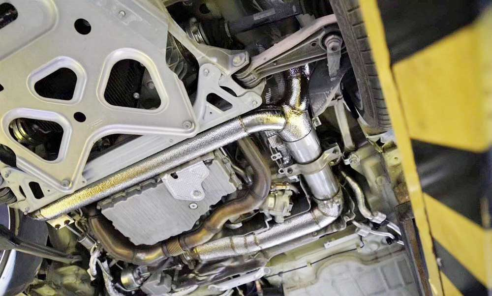 Racing Dynamics Catless Downpipe (718)