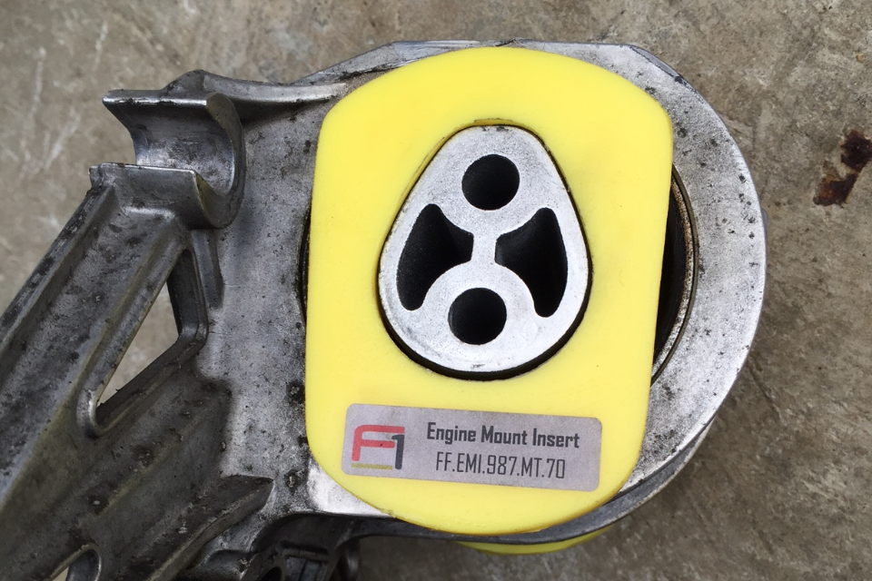Function-First Engine Mount Insert (981 Cayman / Boxster)