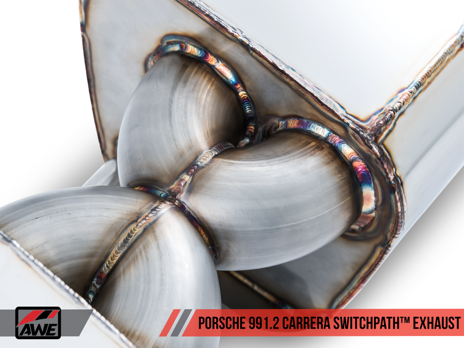 AWE Tuning Exhaust System (991.2 Carrera / S) - Flat 6 Motorsports - Porsche Aftermarket Specialists