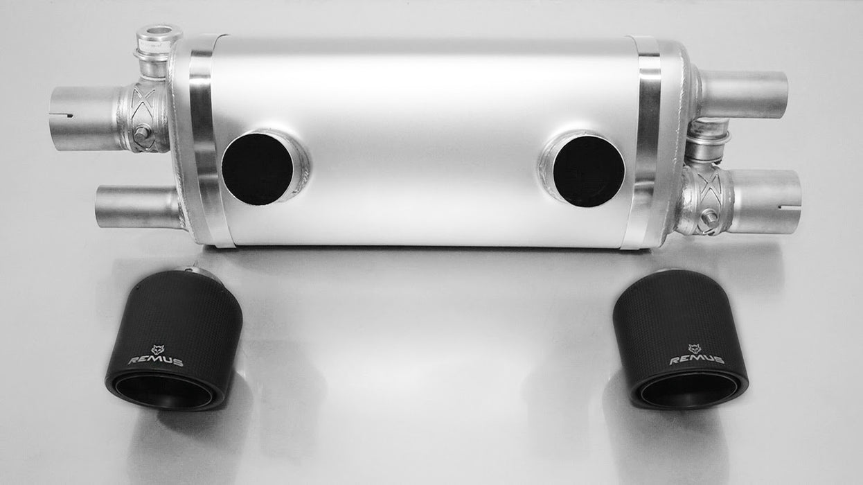 Remus Sport Exhaust System with Valves (991.2 Carrera / S) - Flat 6 Motorsports - Porsche Aftermarket Specialists