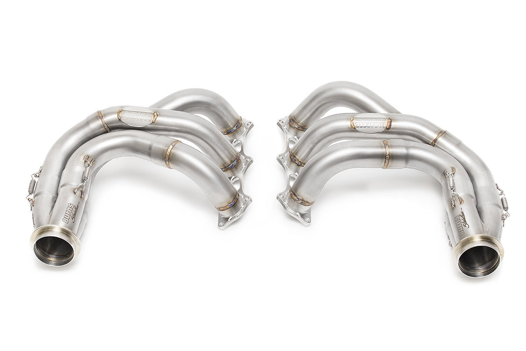 Fabspeed Long Tube Competition Race Header System (991 GT3 / R) - Flat 6 Motorsports - Porsche Aftermarket Specialists