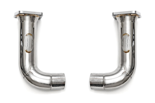 Fabspeed Catbypass Pipes (991 Turbo) - Flat 6 Motorsports - Porsche Aftermarket Specialists