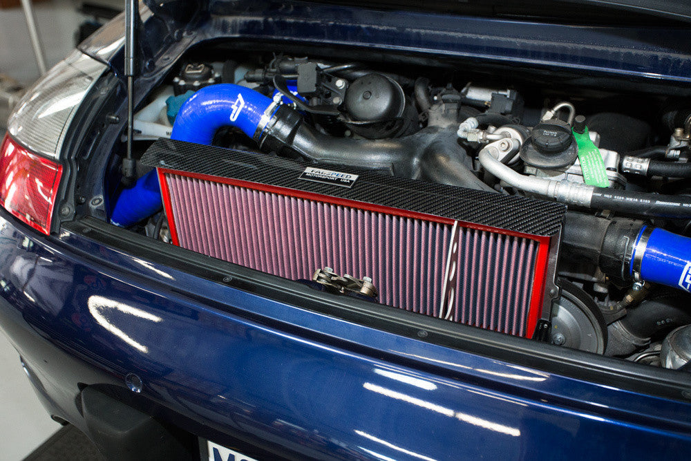 Fabspeed High Performance Air Intake System (996 Turbo) - Flat 6 Motorsports - Porsche Aftermarket Specialists
