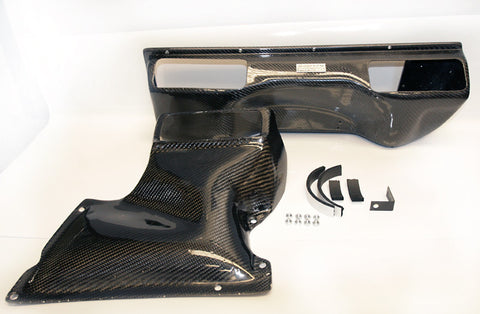 Agency Power Dual Flow Carbon Fiber Intake (996 Turbo)