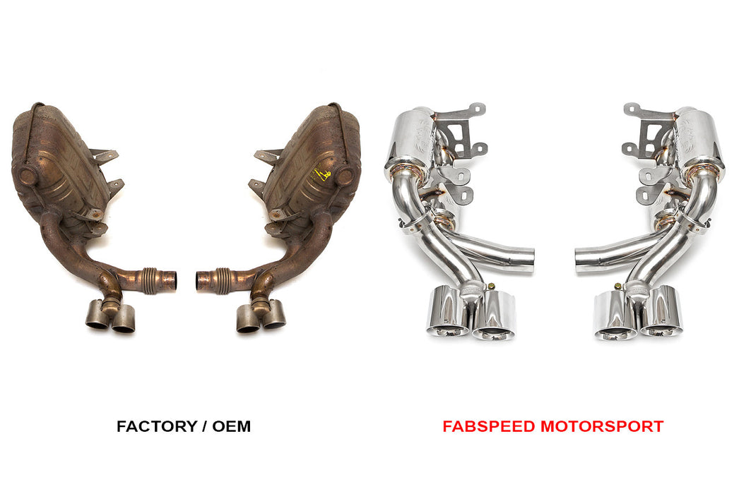 Fabspeed Supercup Exhaust System (997.1 Carrera) - Flat 6 Motorsports - Porsche Aftermarket Specialists