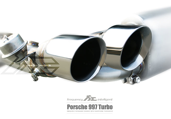 Frequency Intelligent Valvetronic Exhaust System (997.2 Turbo) - Flat 6 Motorsports - Porsche Aftermarket Specialists
