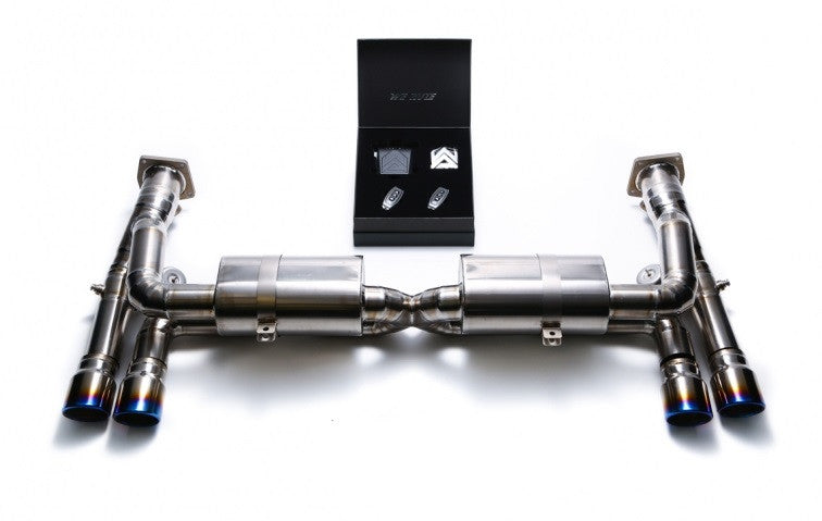 Armytrix Valvetronic Cat-Back Exhaust System (997 1 Turbo)