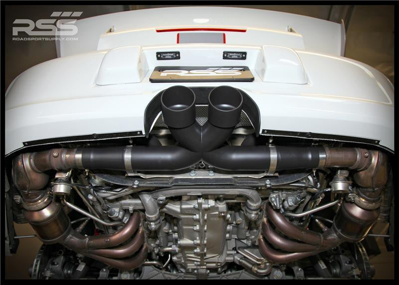 RSS X-Pipe Center Exhaust (997 GT3) - Flat 6 Motorsports - Porsche Aftermarket Specialists