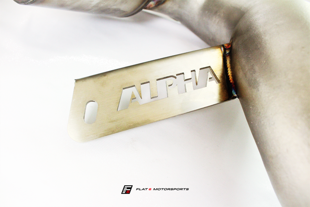 Alpha Performance (AMS) Downpipes (Macan)