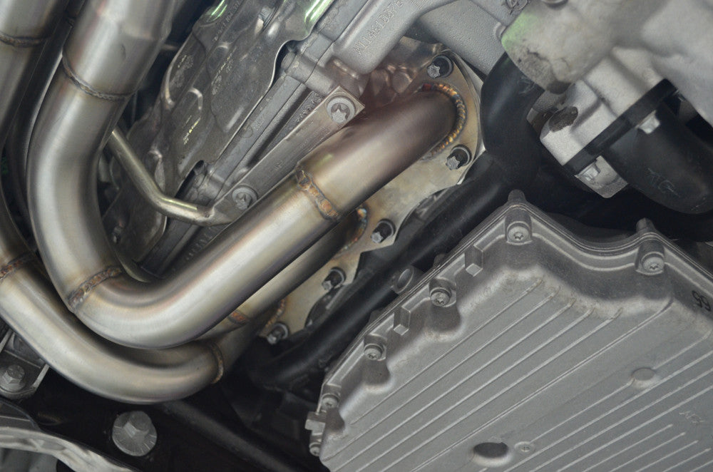 Agency Power Cat-less Race Headers (991.1 Carrera) - Flat 6 Motorsports - Porsche Aftermarket Specialists