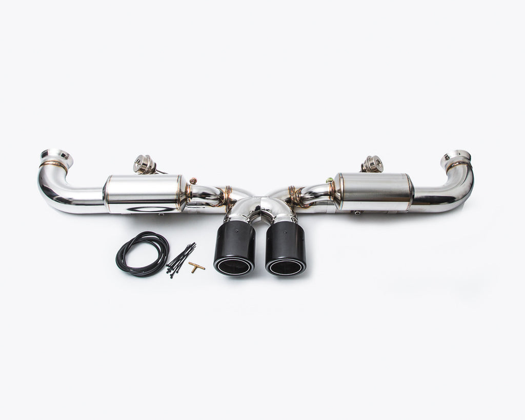 Agency Power Valved Exhaust System (991 GT3)