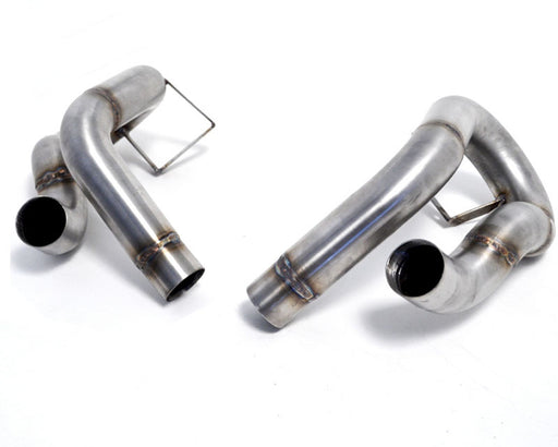 Agency Power Secondary Muffler Bypass Pipes (991.1 Carrera S) - Flat 6 Motorsports - Porsche Aftermarket Specialists