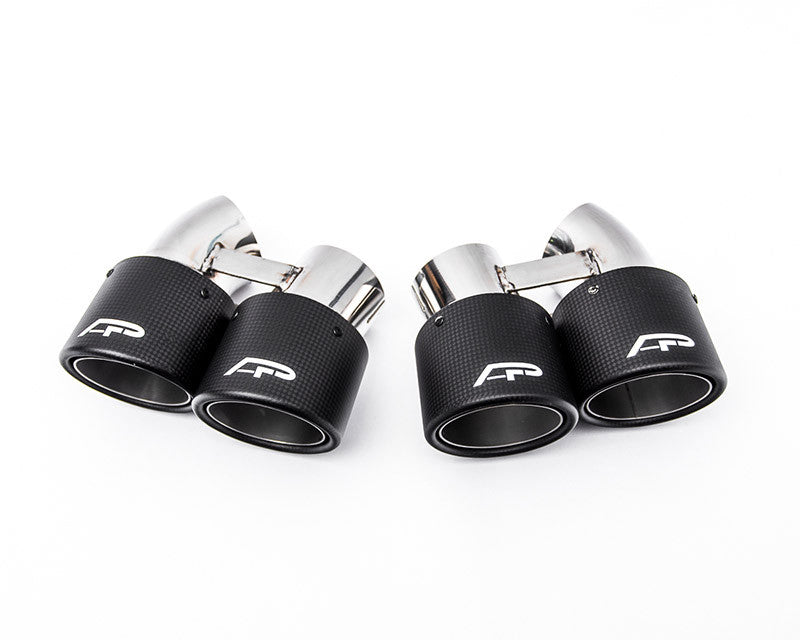 Agency Power Quad GT2 Angle Style Exhaust Tips (991 Turbo)
