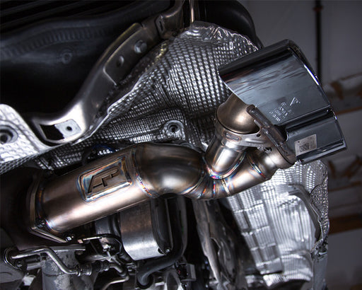 Agency Power Muffler & Cat Delete Race Pipes (991 Turbo) - Flat 6 Motorsports - Porsche Aftermarket Specialists