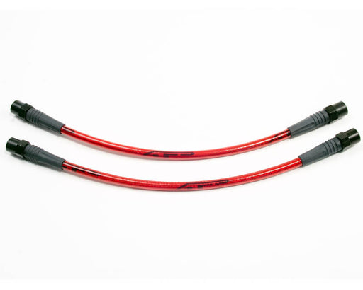 Agency Power Rear Steel Braided Brake Lines (Cayman / Boxster 981) - Flat 6 Motorsports - Porsche Aftermarket Specialists