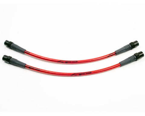 Agency Power Rear Steel Braided Brake Lines (Cayman / Boxster 987, 981, 996, 997) -