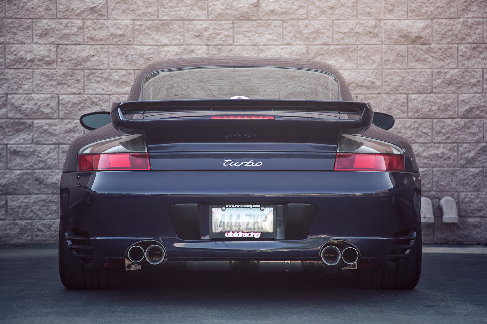 Agency Power Titanium X-Pipe Exhaust Muffler System (996 Turbo) - Flat 6 Motorsports - Porsche Aftermarket Specialists