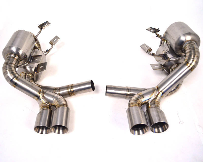 Agency Power Titanium Exhaust System w/ Quad Tips (997.1 Carrera)