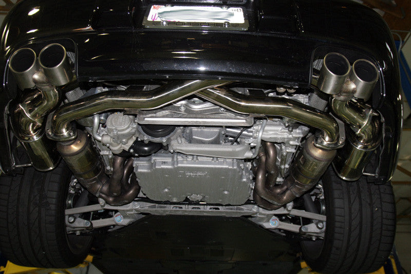 Agency Power Exhaust System (997.2 Carrera) - Flat 6 Motorsports - Porsche Aftermarket Specialists
