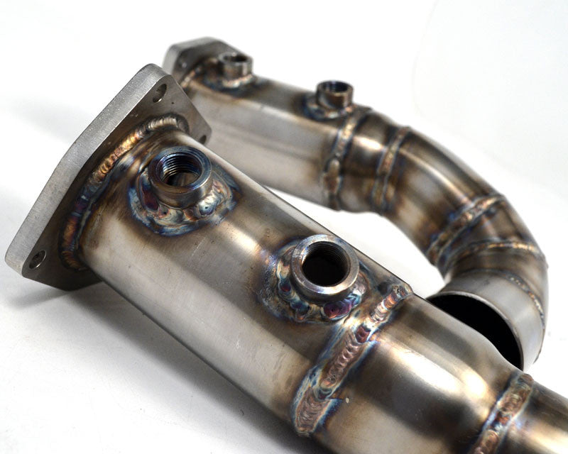 Agency Power Race Pipes (997.2 Turbo) - Flat 6 Motorsports - Porsche Aftermarket Specialists