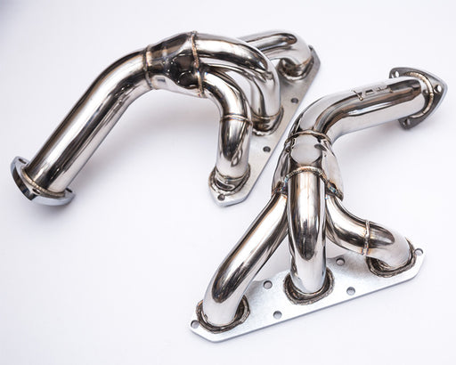 Agency Power Stainless Steel Catless Headers (997.2 Carrera) - Flat 6 Motorsports - Porsche Aftermarket Specialists