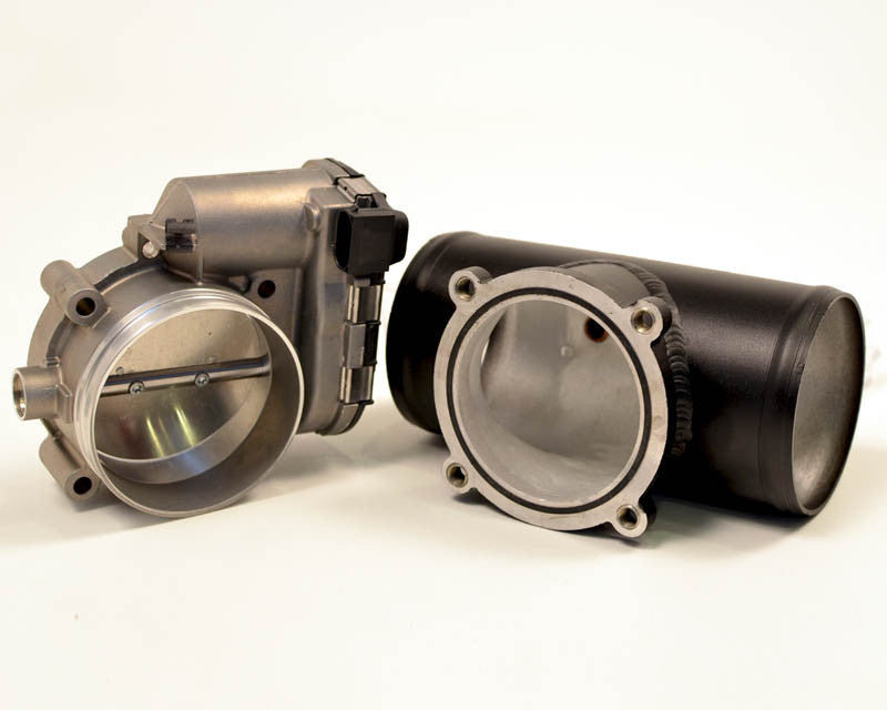 Agency Power Plenum and 84mm Throttle Body (997.1 Turbo) - Flat 6 Motorsports - Porsche Aftermarket Specialists