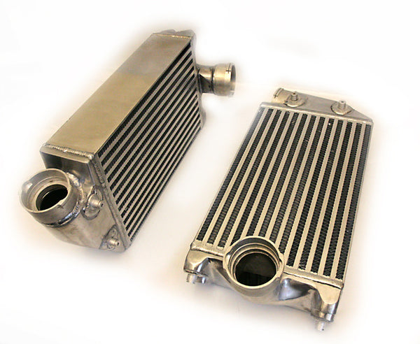 Agency Power High Flow Racing Intercoolers (997.1 Turbo) - Flat 6 Motorsports - Porsche Aftermarket Specialists