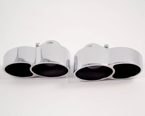 Agency Power Quad Oval Exhaust Tips (997.1 Turbo)