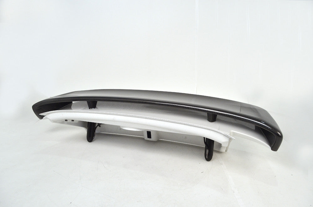 Agency Power Carbon Fiber Type II Add-on Rear Wing (997 Turbo) - Flat 6 Motorsports - Porsche Aftermarket Specialists